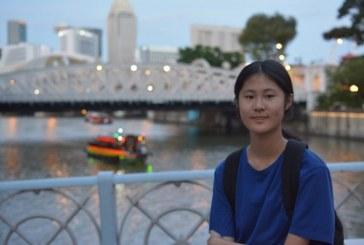 水彩画_香港夜景_刘孟媛_Liu Catherine Mengyuan_国际青少年美术家_少美联赛